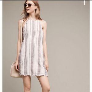Cloth & Stone Striped Corset Back Dress